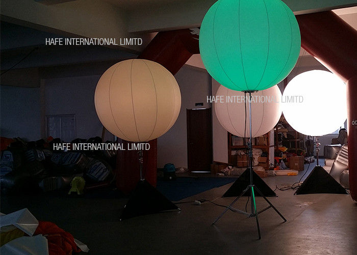 130 CM Moon Shape Inflatable Led Light Balloon With Adjustable Tripod Stand