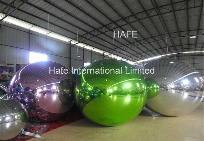 3M Mirror Ball Inflatable Lighting Decoration 10ft For 2019 Spring Dress Fashion Show