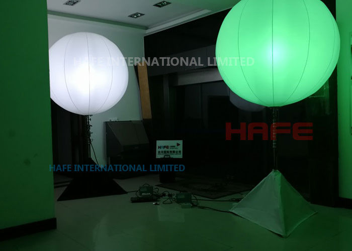 DMX Type Light Up Balloon Party Lighting , RGB 400W led Balloon Events Lighting